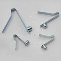 BC - Type Solid Head Bent Spring Leg Snap Button Assemblies