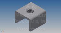 0410-F T-Joint Fasteners (Weld-Nuts) by Valco