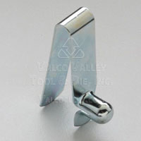 A-115 Single End Straight Spring Leg Snap Buttons by Valco