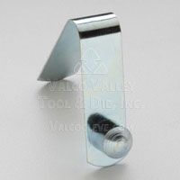 AC-183 Solid Head, Single End Straight Spring Leg (AC-Style Snap Button) Snap Buttons by Valco