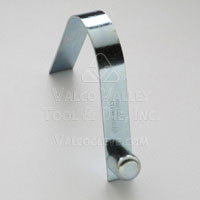 AC-184 Solid Head, Single End Straight Spring Leg (AC-Style Snap Button) Snap Buttons by Valco