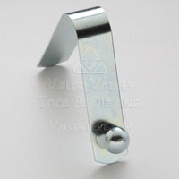 AC-187 Solid Head, Single End Straight Spring Leg (AC-Style Snap Button) Snap Buttons by Valco